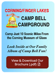 camp bell campground brochure
